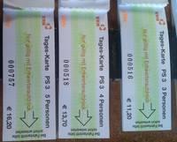 Fahrkarten Krebsbachtalbahn