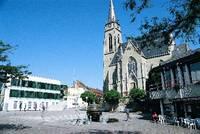 Stadtkirchen und Rathaus Bad Rappenau