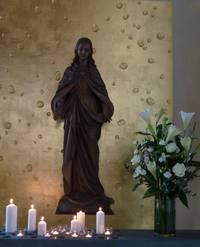 Marienstatue Herz-Jesu-Kirche