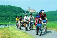 Radtour auf dem Salz & Sole Radweg