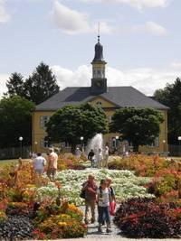 Historischen Gebäude Salinenpark